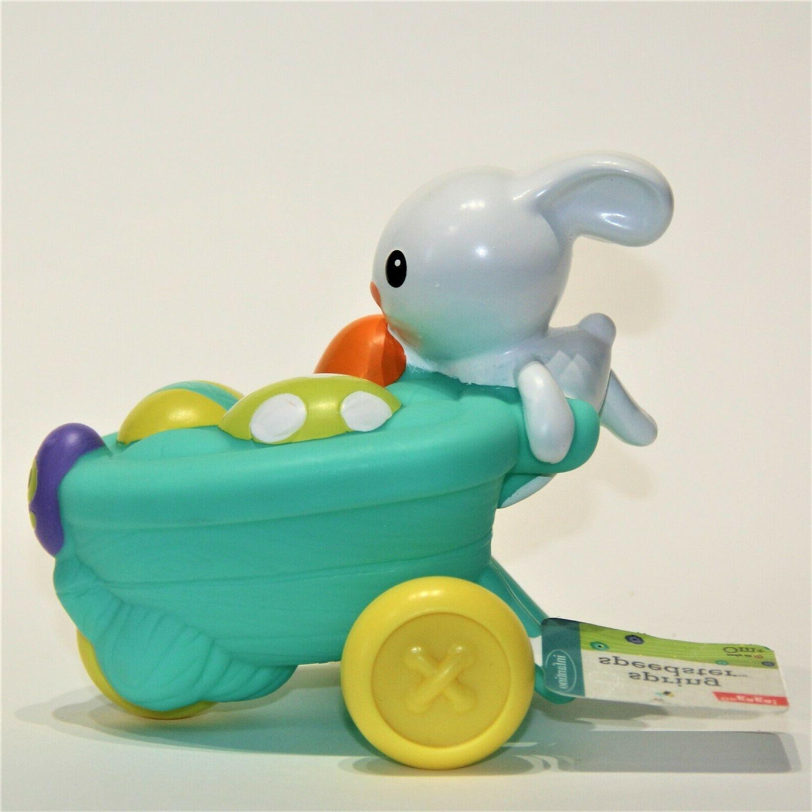 Infantino Go Gaga Toy Activity Cart Flower Orange