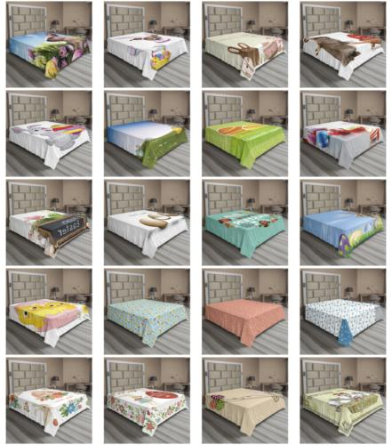 Ambesonne Happy Easter Sheet Top Bedding Sizes