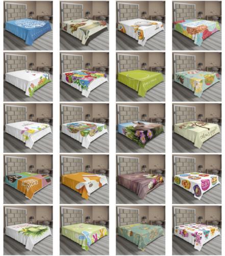 happy easter flat sheet top sheet decorative