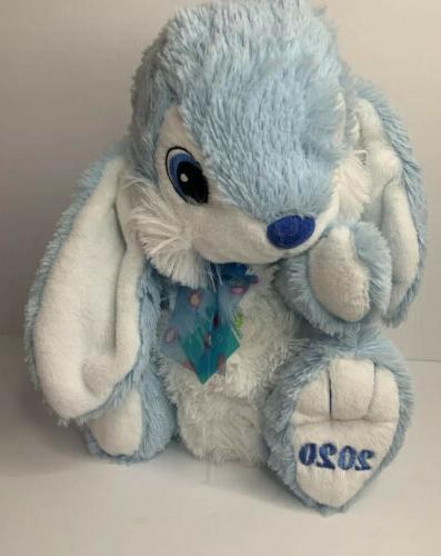 2020 Dee Blue/White Fluffy Plush