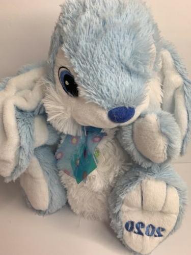 Hoppy Hopster 2020 Blue/White Plush