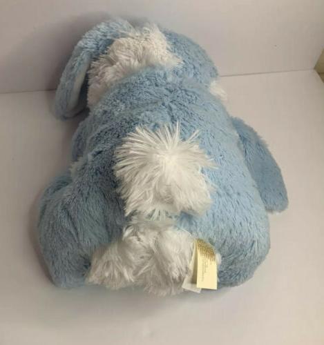 Hoppy 2020 Dan Dee Blue/White Fluffy Plush