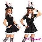 ladies black easter bunny rabbit costume fancy