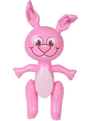 Large Inflatable Easter Bunny Party