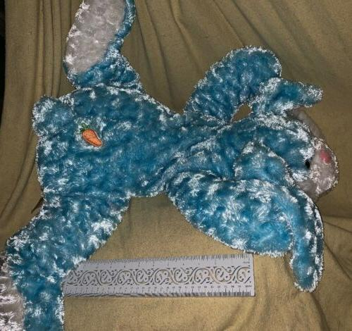 Dan Dee Blue White Easter Plush NWOT