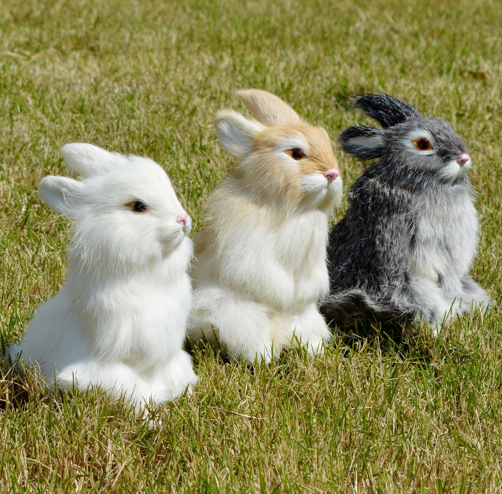 Lifelike Easter Home Fur Animal