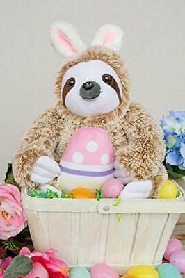 Easter Bunny Stuffed Animal Fluffy Stuffed Sloth