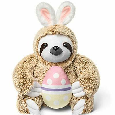 Easter Stuffed Fluffy Easter Sloth Egg