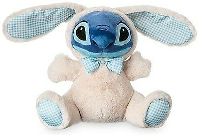 "Lilo & Stich STITCH EASTER BUNNY PLUSH 10 1/2"" NWT AUTHENTIC"