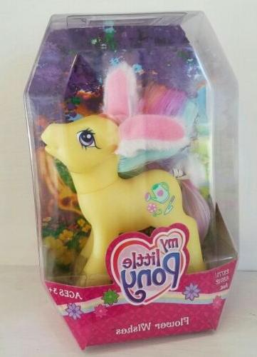 MIB My Little Pony G3 FLOWER WISHES Easter Bunny Exclusive F