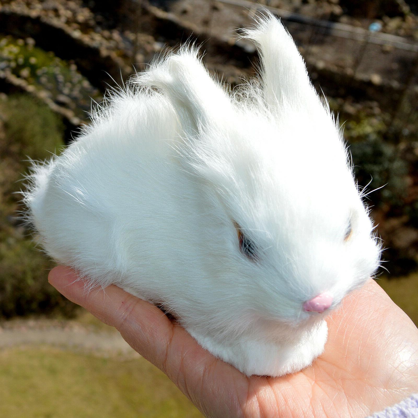 Mini Realistic Cute Plush Fur Animal