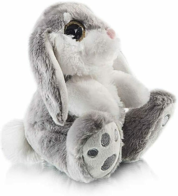 My Easter Bunny Ear Sitting Bunny Animal Gray