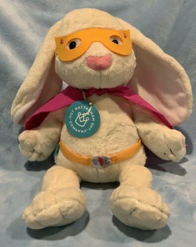new dress ups superhero bunny stuffed animal