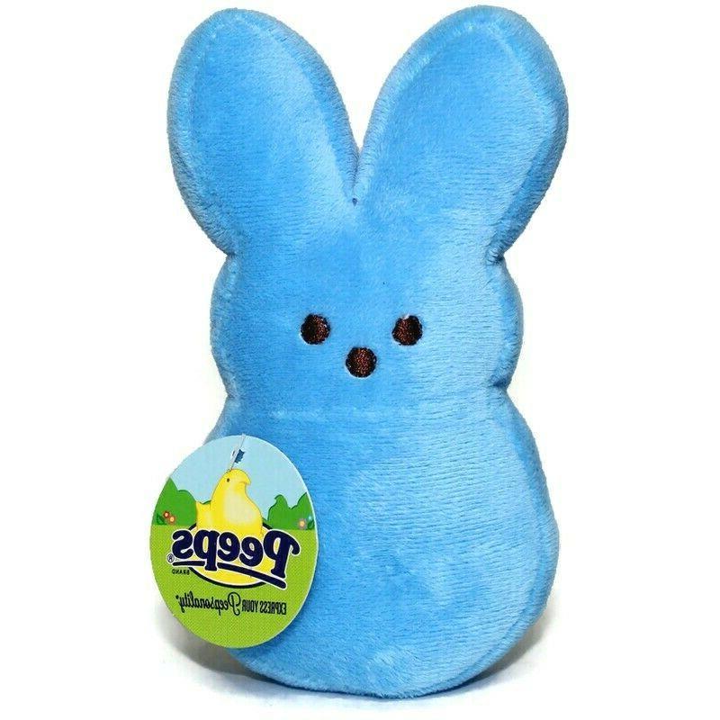 new plush 6 blue bunny rabbit stuffed