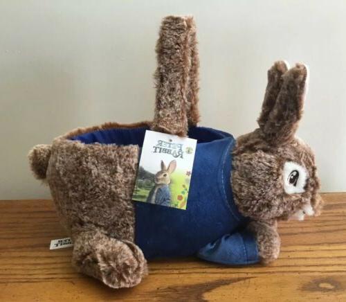 new rare easter basket bunny soft plush
