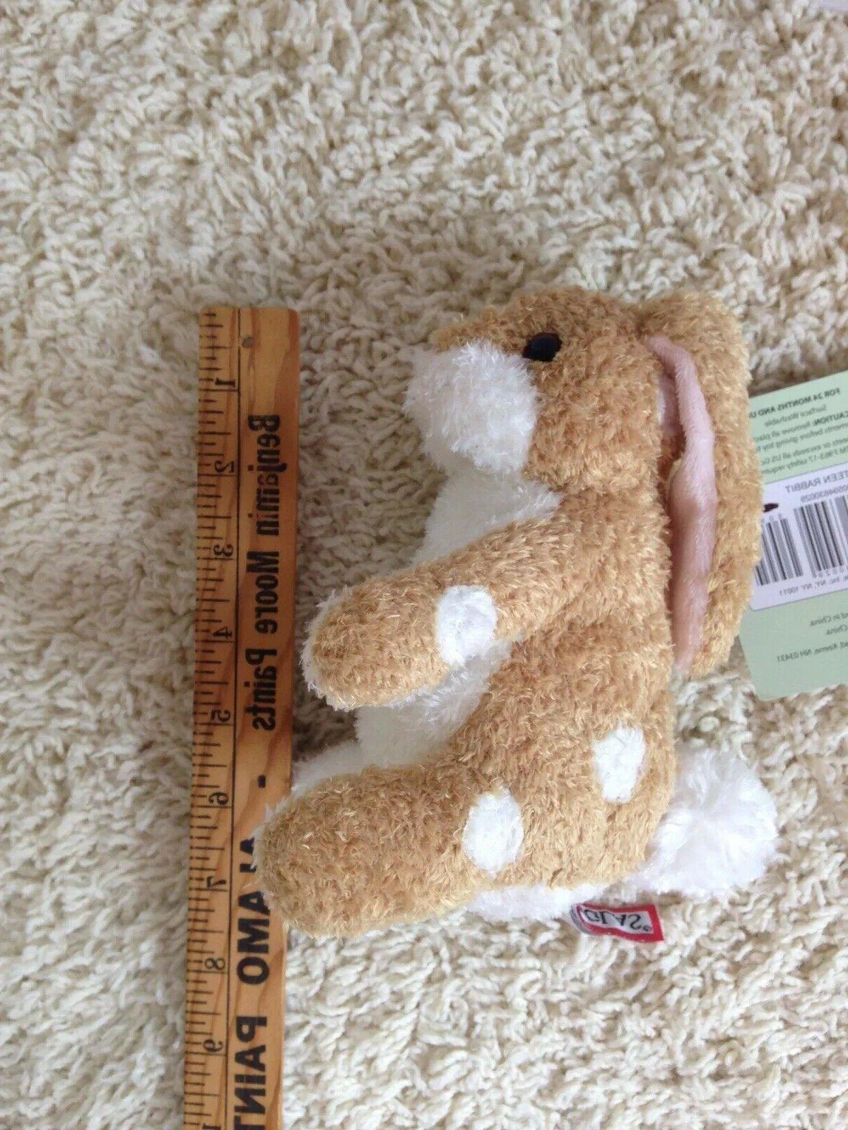 NEW Velveteen Bunny Toy Easter Animal R51