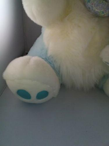 """NEW blue PLUSH BUNNY MTY & 29"""" -EASTER"""
