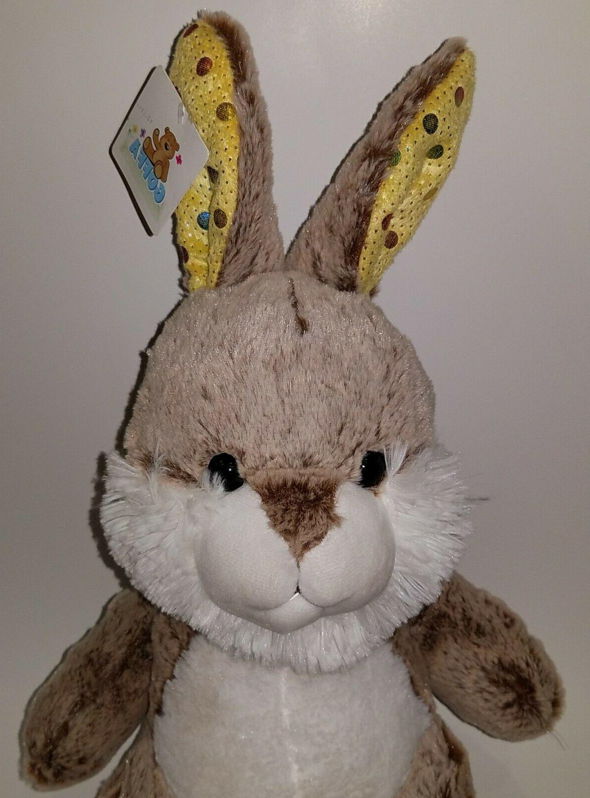 NWT Rabbit Stuffed Yellow
