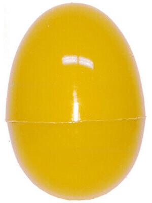 one yellow 2 5 plastic easter egg