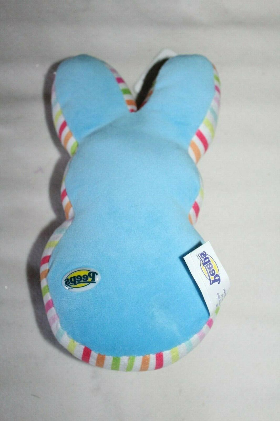PEEP Easter BLUE BUNNY BAG Chick Animal Toy
