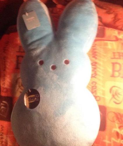 peeps blue easter bunny 17 rabbit plush