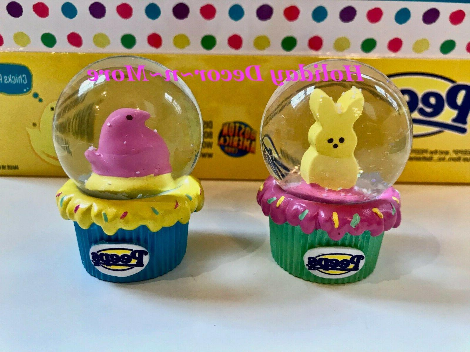 PEEPS MINI SNOW COLLECTIBLE BUNNY CHICK EASTER BASKET GIFT