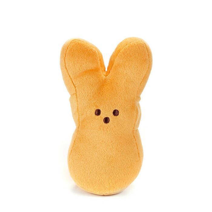 PEEPS Bunny Stuffed Animal Gift Orange