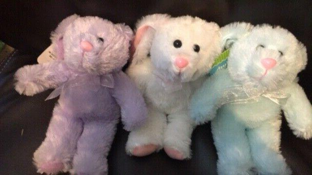 Personalized Plush Easter Bunnies-Kids
