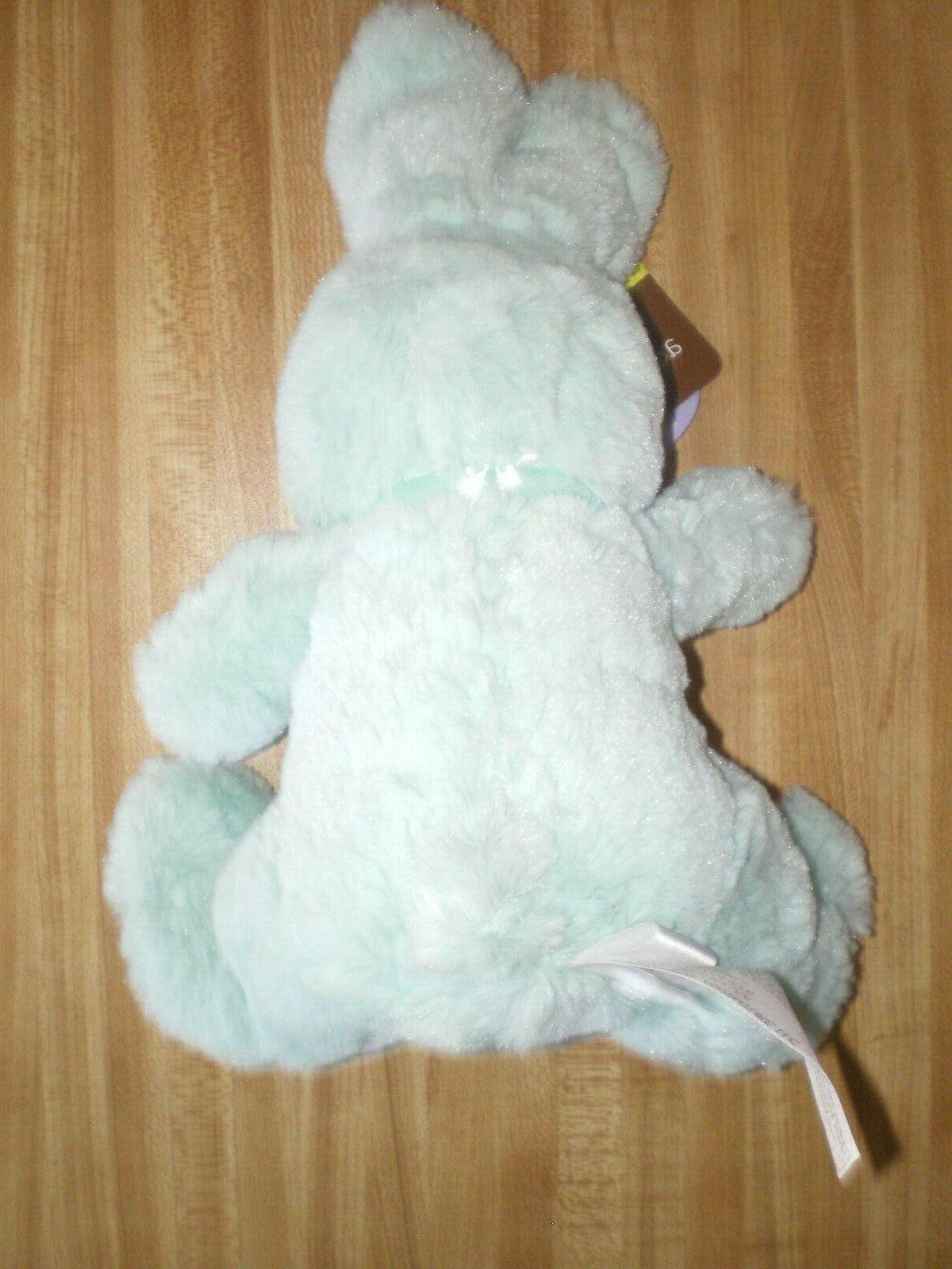 "Plush Easter Animal Adventure Green, 11"""