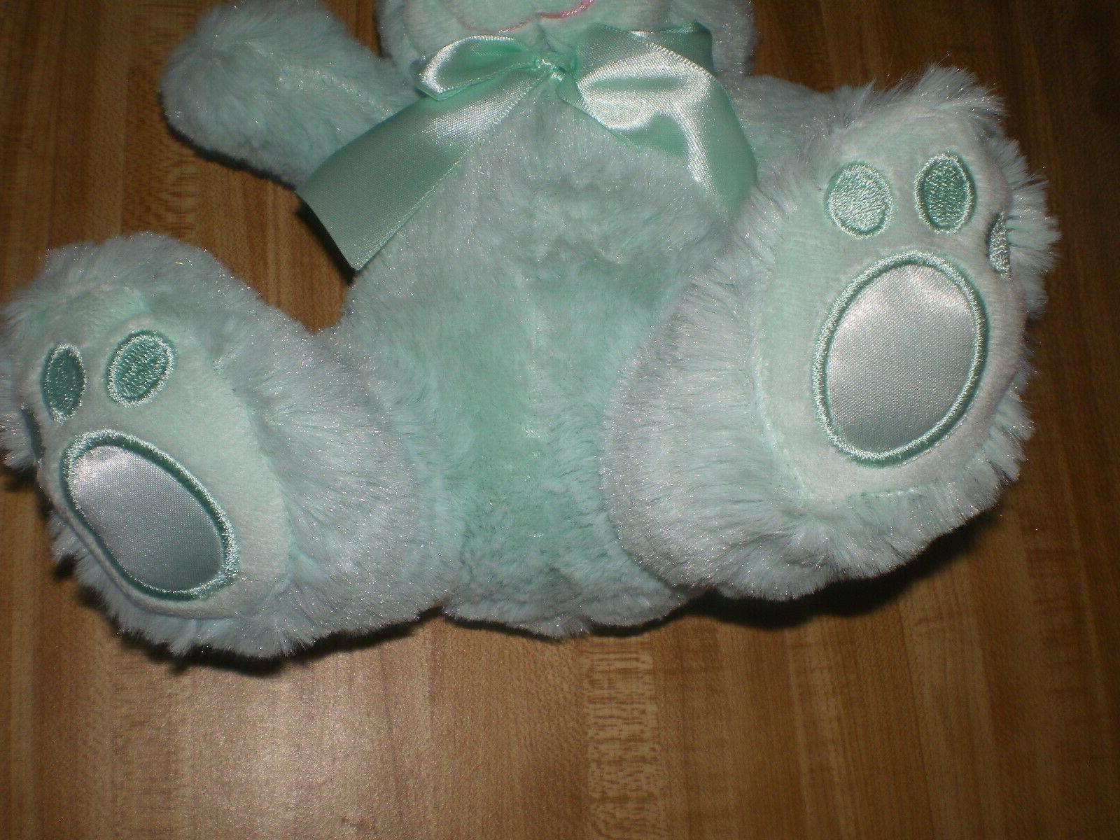 """Plush Easter Bunny by Animal Adventure NEW Green, 11"""""""