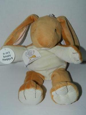 plush easter bunny nutbrown hare puppet guess