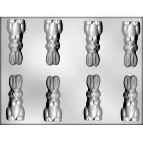 rabbit 3 easter bunny chocolate candy mold
