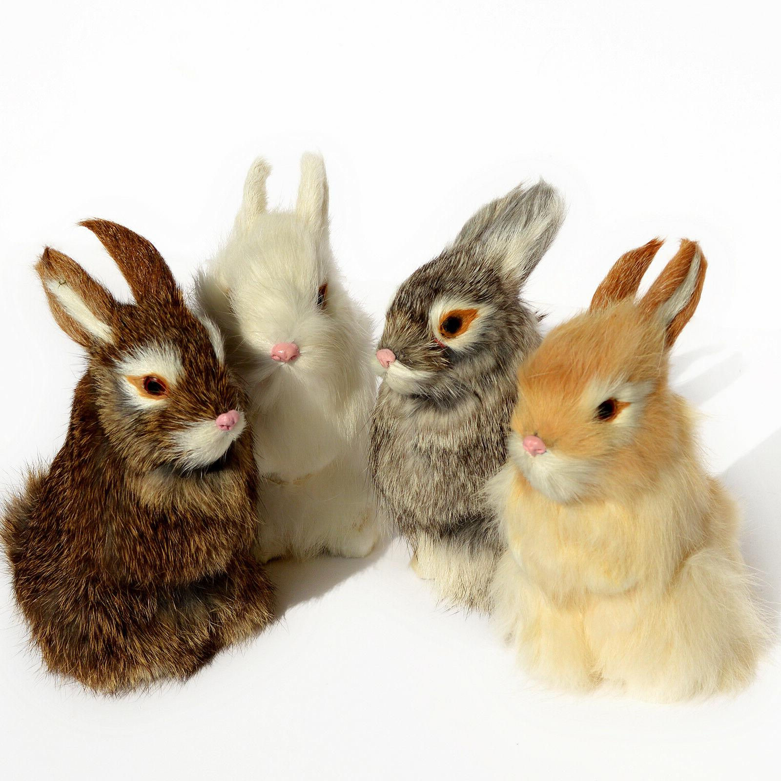 Realistic Artificial Rabbit Lifelike Easter Bunny Furry Anim
