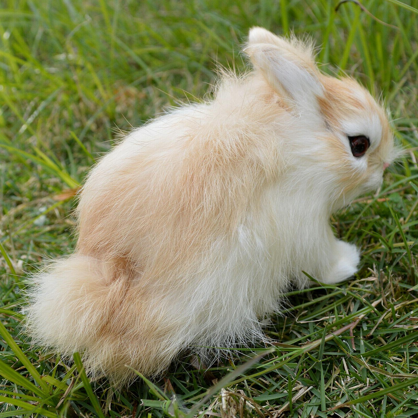 Realistic Handmade Easter Bunny Holiday Photo