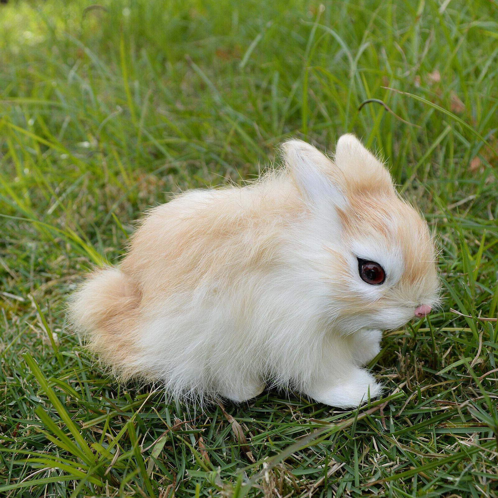 Realistic Handmade Bunny Fur Holiday
