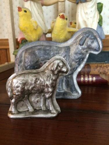 SET Bunny Lamb Chick Resin Figurine