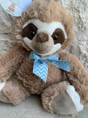 """Sloth Bunny Plush Easter Basket Stuffed 16"""" NEW Ship!!"""