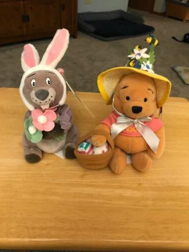 store mininbean bag easter pooh and easter