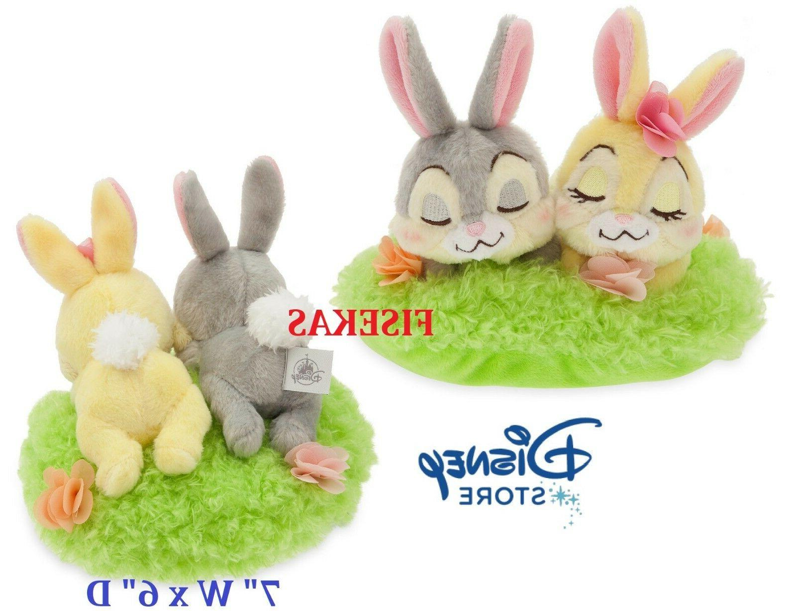 Disney Store Thumper And Miss Bunny Mini Plush