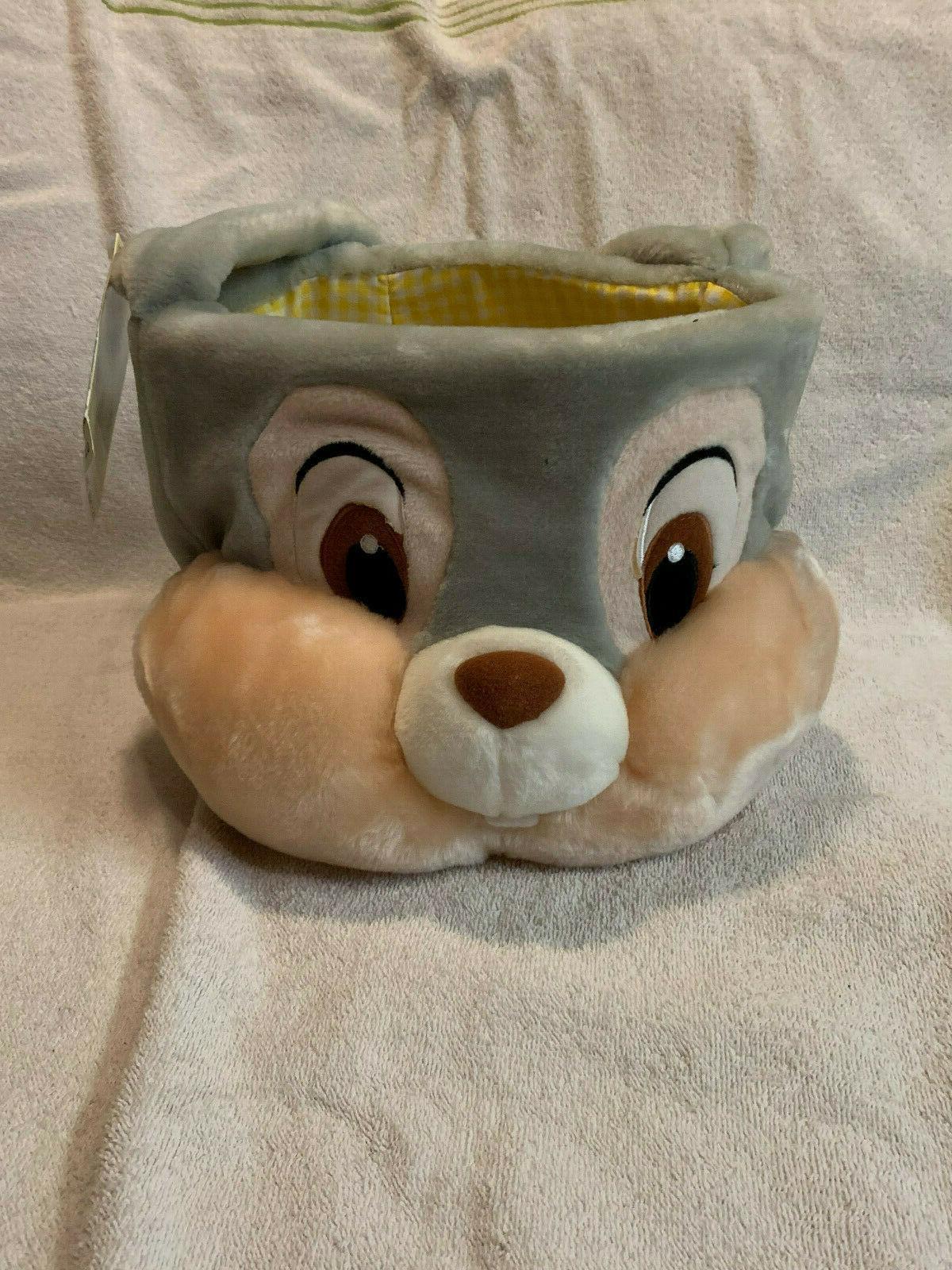 Disney Easter Basket Plush Bunny