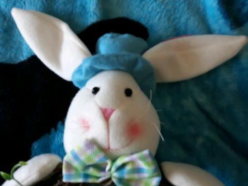 Stuffed Bunny Indoor Wreath