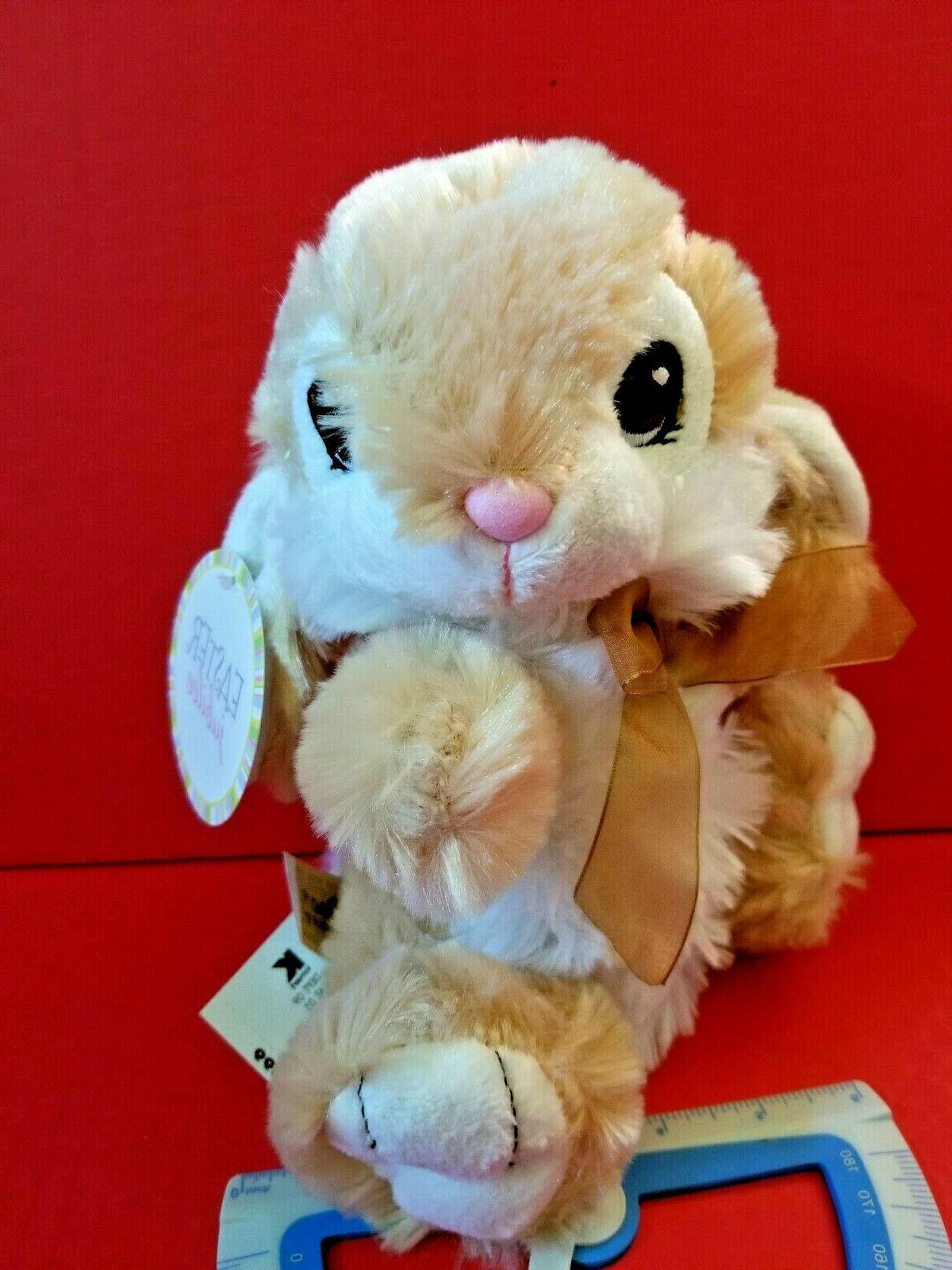tan bunny plush toy easter holiday rabbit