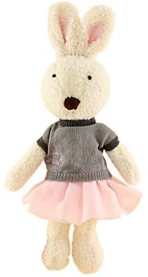 JIARU Toys Easter Bunny Rabbits Plush Stuffed Animals with R