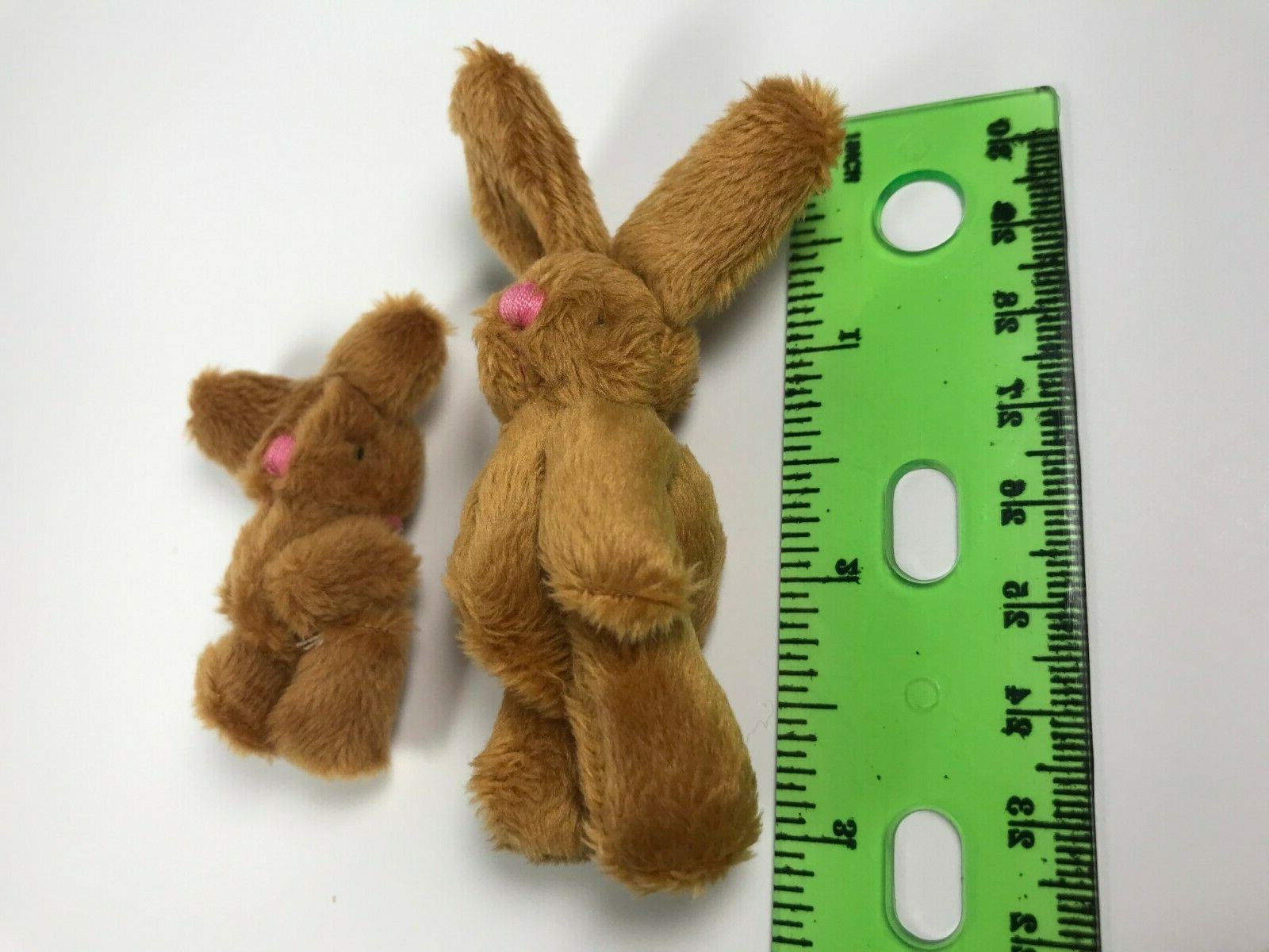 Rabbits Mini Plush Bunny