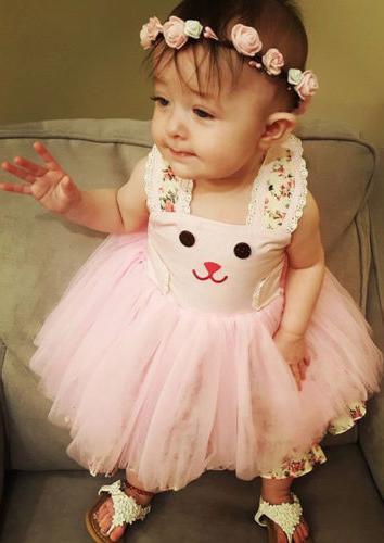 US Bunny Dress Floral Sundress