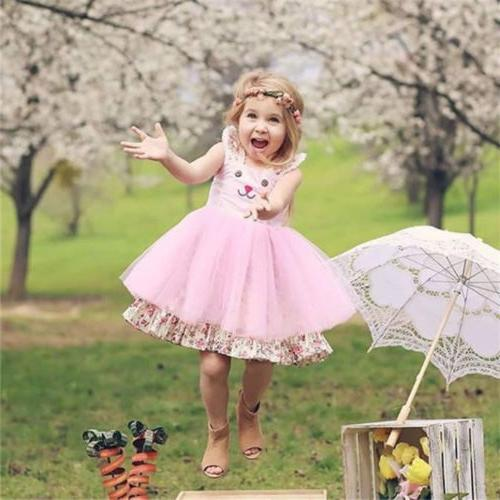 US Bunny Dress Outfit Tulle Sundress