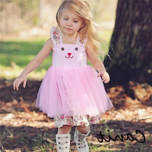 us baby girl easter bunny dress floral