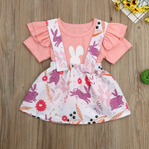 US2Pcs Infant Clothes Top Set