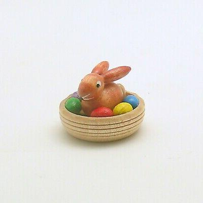 wood easter decoration easter bunny erzgebirge germany