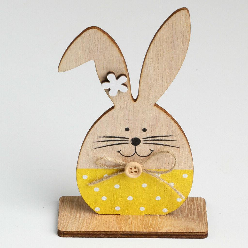 Wooden Easter Bunny Desktop Favors Shower Wedding Decor